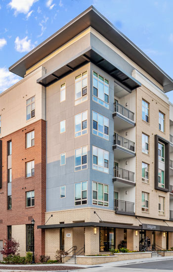 5-story Inspire Southpark modern apartment building